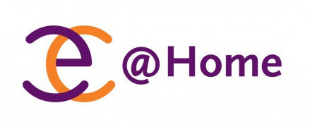 EC@Home Logo Wordmark